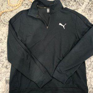Puma Black Quarter Zip size XXL